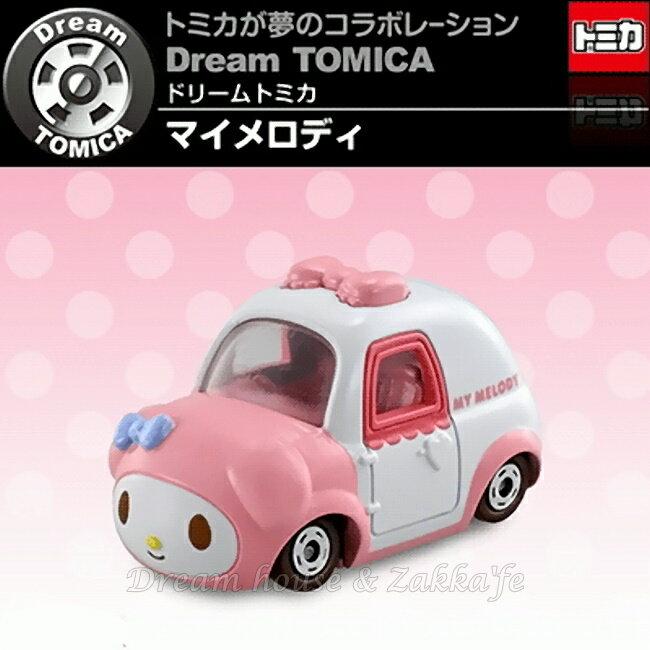 日本【トミカ】sanrio 三麗鷗 My Melody 美樂蒂 造型小汽車玩具 《 TAKARA TOMY 》 ★ Zakka'fe ★ - 限時優惠好康折扣