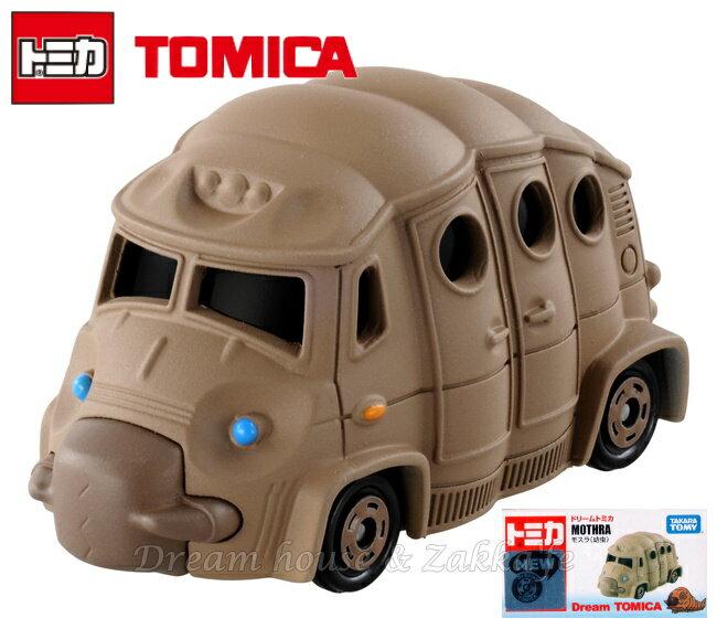 日本【トミカ】摩斯拉 MOTHRA 幼蟲 小汽車玩具 《 Dream TOMICA 》 ★ Zakka'fe ★