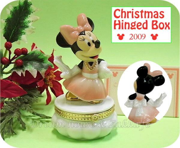 日本進口 DISNEY 迪士尼 米妮 陶瓷小物置物盒 / 收納盒 《 限量款 》★ Zakka'fe ★ - 限時優惠好康折扣