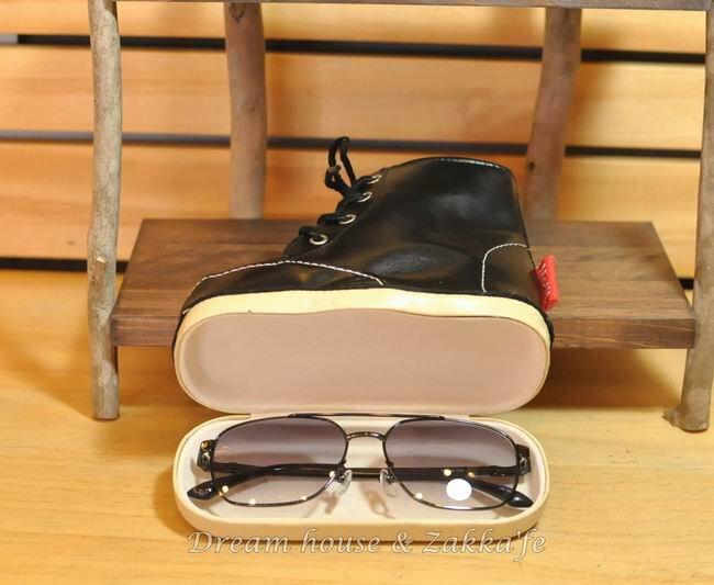 帆布鞋造型眼鏡盒 / 眼鏡架 黑色 ★質感超好超可愛★ - 限時優惠好康折扣