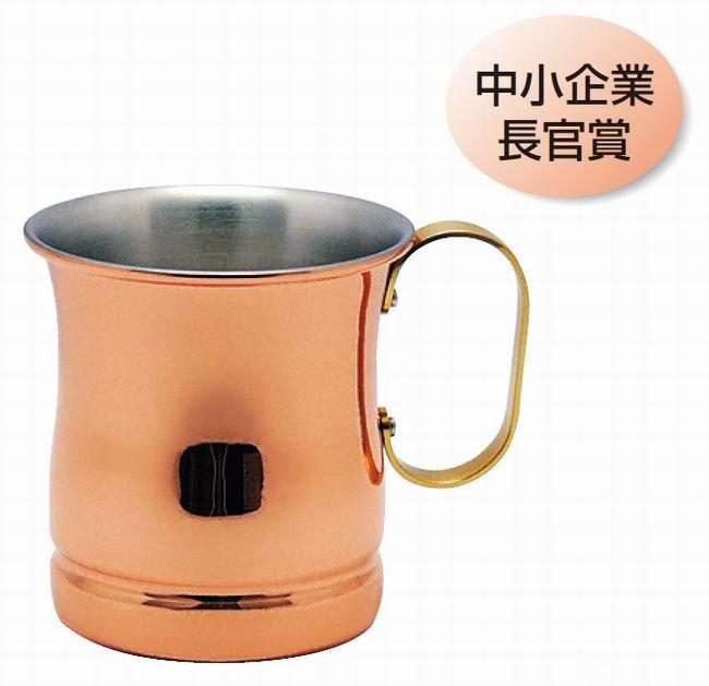 日本新光金屬 手工純銅單把杯 S-588 ★日本製★