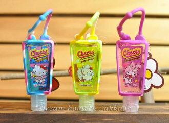 日本Cheers保濕香氛乾洗手 Kitty Melody 《29ml隨身瓶 》《多款任選 可掛包包喔》★超可愛★
