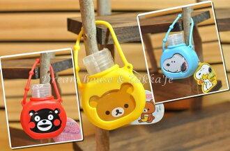 日本卡通速乾乾洗手 《30ml隨身瓶 》《Kitty Snoopy 多款任選 可掛包包喔》★超可愛★ 日本製