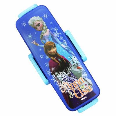 Disney 冰雪奇緣雙層便當盒 《附環保筷》★ 日本製 ★ - 限時優惠好康折扣