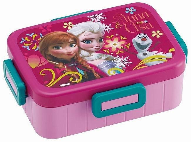 Disney 冰雪奇緣單層便當盒 《內附隔層》 650ml ★ 日本製 ★ - 限時優惠好康折扣