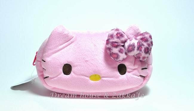 日本正版 三麗鷗系列 Hello Kitty 萬用收納包 / 化妝包 / 筆套 《 粉色 》★ 超可愛 ★ 日本限定 - 限時優惠好康折扣