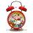 日本三麗鷗 Hello Kitty 附燈打鈴鬧鐘《 日本限定 》★ 無聲 / 靜音 / 連續機芯 ★ - 限時優惠好康折扣