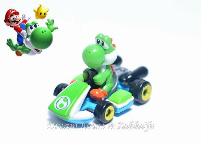 日本正版 任天堂 瑪莉歐/馬力歐 恐龍 耀西 小汽車玩具 ★ 超可愛 ★