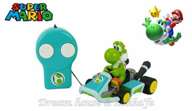 日本正版 任天堂 Mario 瑪莉歐/馬力歐 恐龍 耀西 遙控汽車/賽車玩具 ★ 超可愛 ★