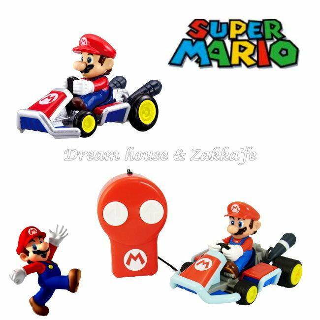 日本正版 任天堂 Mario 瑪莉歐/馬力歐 遙控汽車/賽車玩具 ★ 超可愛 ★
