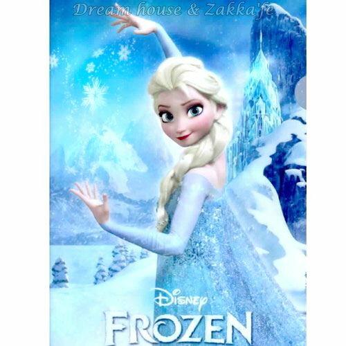 日本正版 Disney 迪士尼 冰雪奇緣 艾莎 Elsa L型 資料夾/檔案夾/文件夾 《 FROZEN 》★ 日本製 ★