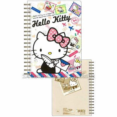 日本限定 Sanrio 三麗鷗 Hello KITTY 郵票 筆記本 《 80枚 》 ★ 日本製 ★