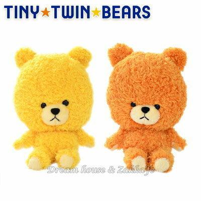 日本正版 雙胞胎小熊 絨毛娃娃 15cm 《 TINY TWIN BEARS 》《 2款任選 》 ★ 日本原裝進口 ★ - 限時優惠好康折扣