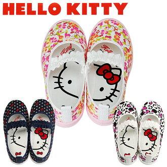 日本 sanrio 三麗鷗 Hello Kitty 兒童 室內鞋/休閒鞋/帆布鞋/鞋子 日本製 《 3款任選 》 ★ Zakka'fe ★