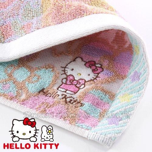 日本三麗鷗 Hello Kitty 蝴蝶結 毛巾《 日本限定 》★ 100%純棉 ★ Zakka'fe ★ - 限時優惠好康折扣
