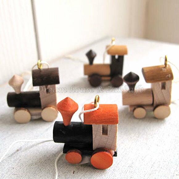 Zakka 鄉村風手工木製 火車頭掛飾 / 吊飾 4款一組 《 德國 RATAGS 》★ Zakka'fe ★ - 限時優惠好康折扣