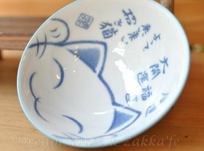 日本製 陶瓷茶碗/兒童碗/飯碗/碗 大開運 招財貓 《 日本進口 》★ Zakka'fe ★