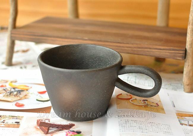 日本製 手工手拉坏 長耳陶瓷咖啡杯 / 茶杯 / 水杯 《 日本進口 》★ Zakka'fe ★ - 限時優惠好康折扣