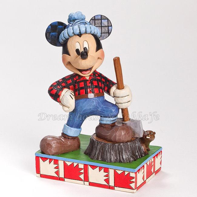 美國ENESCO精品 Jim Shore愛木小灣 世界米奇 加拿大 ★超可愛★ Disney 迪士尼 ★ Zakka'fe