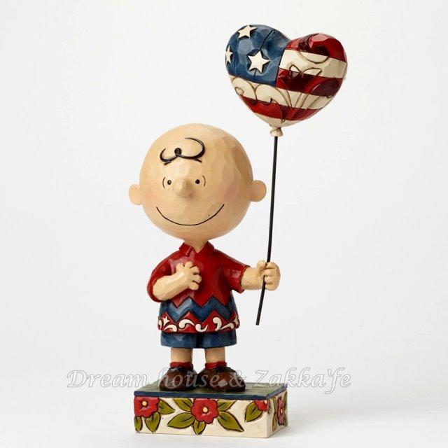 Jim Shore愛木小灣 PEANUTS Snoopy 史努比 查理布朗 愛心氣球 ★ 美國ENESCO精品 ★ Zakka'fe