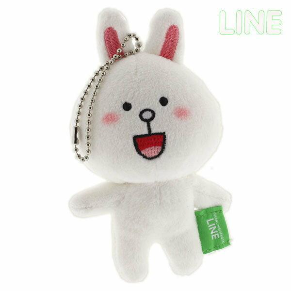日本正版 LINE娃娃吊飾 兔兔 《 掛包包 / 掛鑰匙 隨處掛都好看 》★ 超可愛 ★ - 限時優惠好康折扣