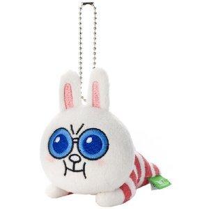 日本正版 LINE娃娃吊飾 兔兔超人 《 掛包包 / 掛鑰匙 隨處掛都好看 》★ 超可愛 ★ - 限時優惠好康折扣