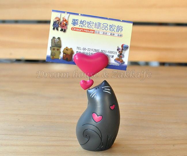 英國4D ART精品 黑色貓咪 便條夾 / 名片夾 / 備忘夾 ★ 也可以夾照片喔 超漂亮 ★ Zakka'fe - 限時優惠好康折扣