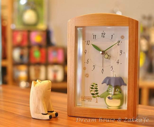 超可愛日本木製 Totoro 龍貓 音樂鬧鐘《日本原裝》★ 附影片檔 ★ - 限時優惠好康折扣