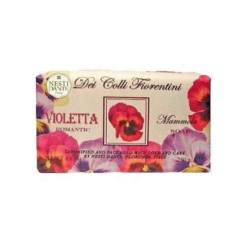 Nesti Dante 三色菫花 浪漫 《250g》★天然花妍皂系列★義大利原裝進口★那是堤手工皂★