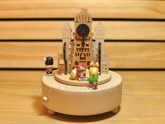 木製剪影旋轉音樂鈴 《 幸福城堡 》 ★ 質感超好 ★ Zakka'fe 0