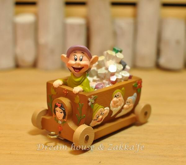 美國ENESCO精品 Show case 迪士尼小火車 DISNEY 小矮人礦車 ★細緻漂亮★ - 限時優惠好康折扣