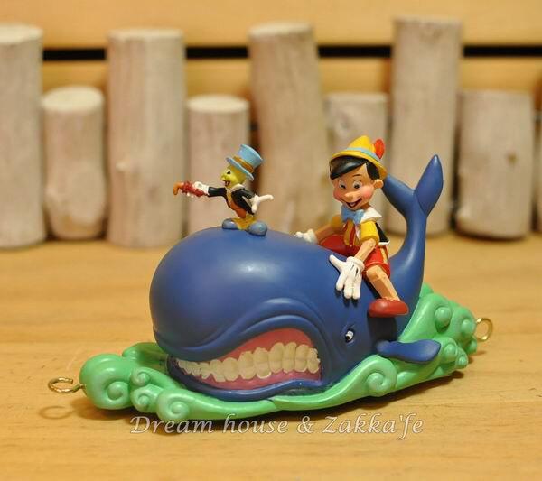 美國ENESCO精品 Show case 迪士尼小火車 DISNEY 小木偶與鯨魚 ★細緻漂亮★ - 限時優惠好康折扣