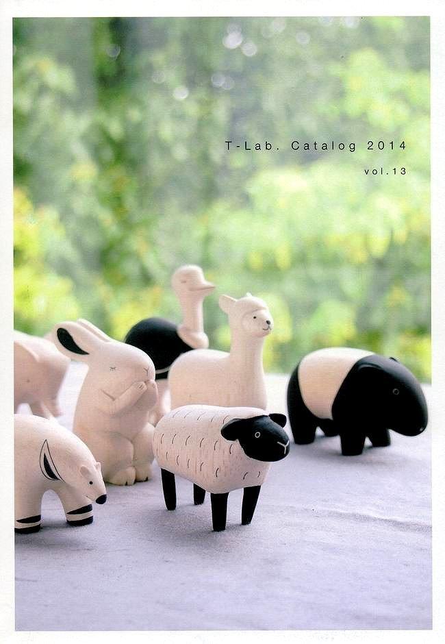 日本 T-Lab 手工原木製原色動物擺飾《 H 》★ Zakka鄉村風 ★ - 限時優惠好康折扣