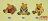 Gnomy`s荷蘭娃娃特約專賣店-1995Gnomy`s荷蘭娃娃*迷你小熊B2&B5&B6* - 限時優惠好康折扣