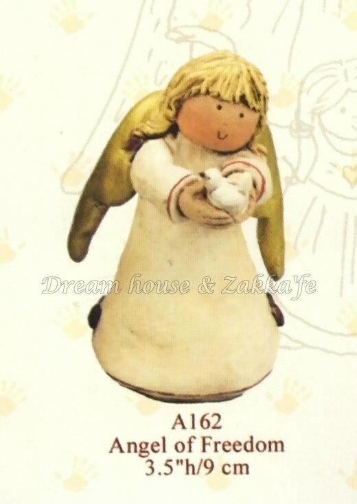 2002 Gnomy''s荷蘭娃娃 A162 天使捧鴿子  ★ Zakka'fe ★ - 限時優惠好康折扣
