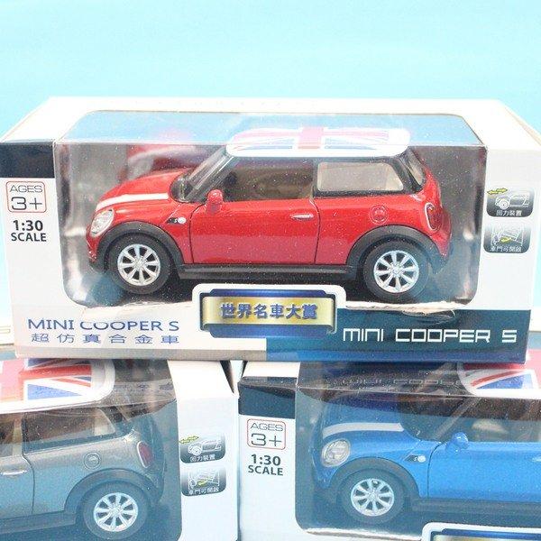英國 MINI COOPER S 合金車 ^(3號白盒^) 一台入^~促199^~1:30