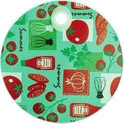 《KitchenCraft》圓型玻璃隔熱墊(番茄)