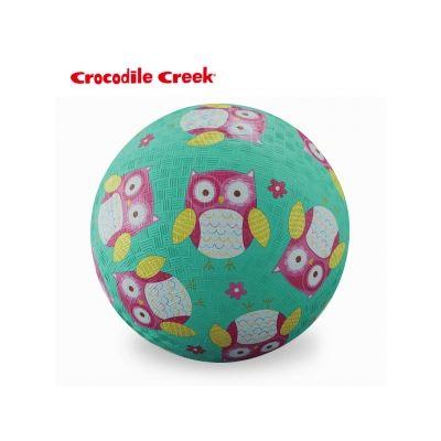 美國Crocodile Creek 5吋兒童運動遊戲球-親親貓頭鷹★衛立兒生活館★