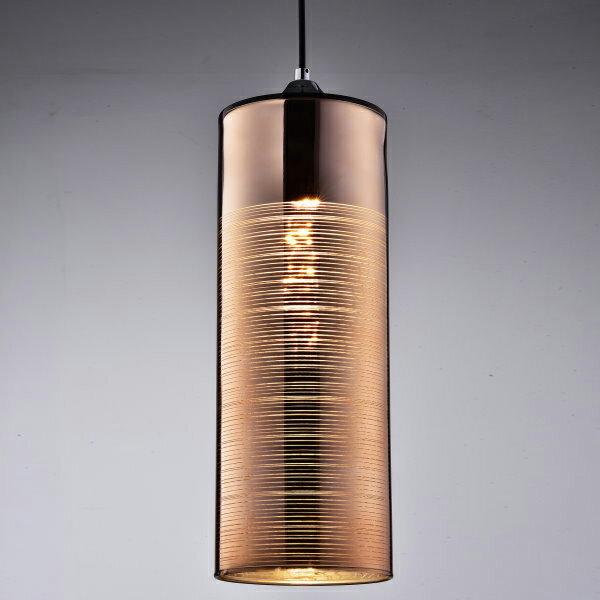 玫瑰金玻璃吊燈(PS37727) / H&D / 日本MODERN DECO
