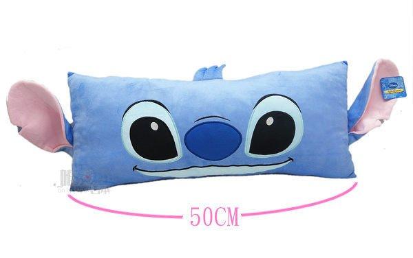 【真愛日本】12102000006 3號大臉懶人長枕50cm史迪奇 迪士尼 星際寶貝 史迪奇 抱枕 正品