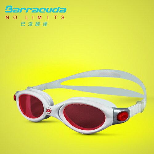 美國巴洛酷達Barracuda成人運動型抗UV防霧泳鏡-AQUALIGHTNING#32420 0