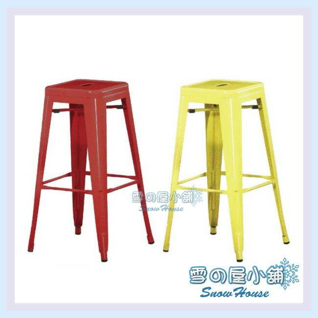 ╭☆雪之屋居家生活館☆╯R893-03/04/05/06 工業風方凳吧檯椅(鐵製)/造型椅/工業椅/會客椅/北歐風情