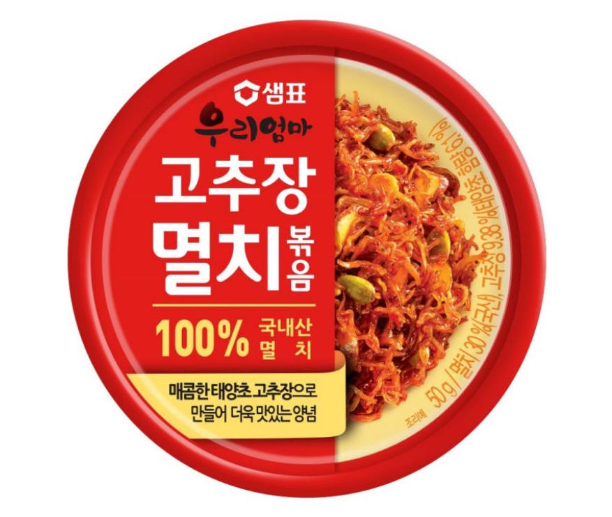 膳府 韓國 辣椒醬炒鯷魚罐頭