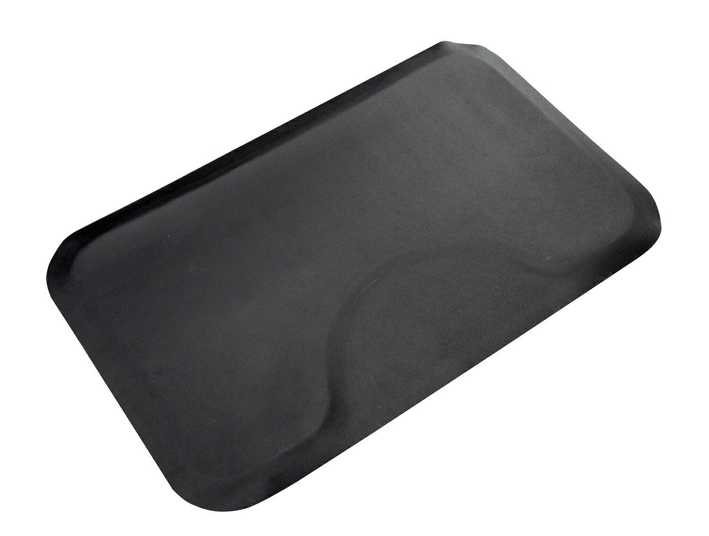 "BarberPub 3'x5' Salon Barber Chair Anti-Fatigue Floor Mat Rectangle 1/2"" Thick 2"