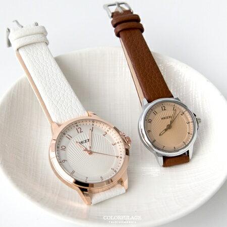 女孩必搭玫瑰金韓系手錶 春夏新品馬卡龍配色 柒彩年代【NE1840】單支