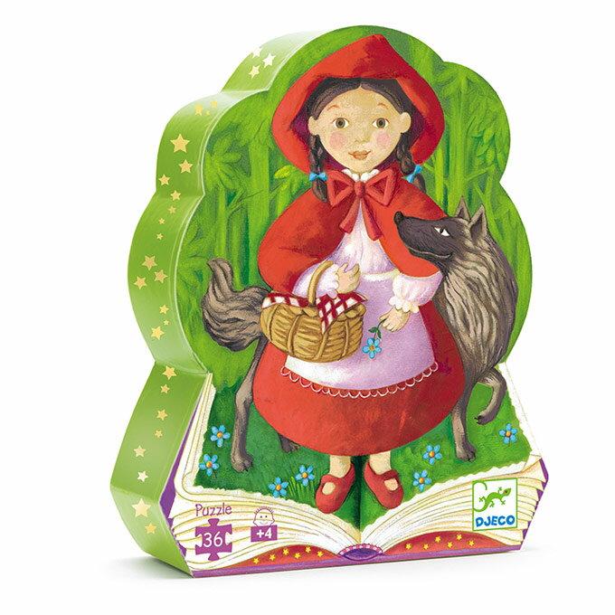 DJECO智荷 - 左右腦拼圖 - 小紅帽 Little Red Riding Hood (拼圖屋) 4Y+