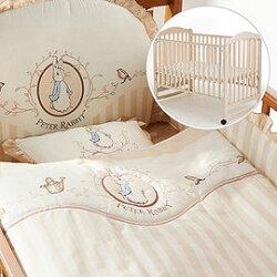 奇哥 Joie 典雅白色大床+優雅比得兔六件床組【百貨專櫃正品/奇哥公司貨】【淘氣寶寶】