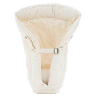 【淘氣寶寶】2016年 美國正品 Ergo Baby ergobaby Infant Insert 爾哥寶寶背巾用 心型嬰兒保護毯/愛心保護毯【有機款-米白色】