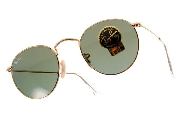 Ray Ban 雷朋 金邊綠鏡色 太陽眼鏡 RB3447 2