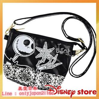 【真愛日本】h.NAOTO-多功能數位收納袋-傑克  迪士尼 聖誕夜驚魂 南瓜王傑克 數位袋 手機袋 側背袋
